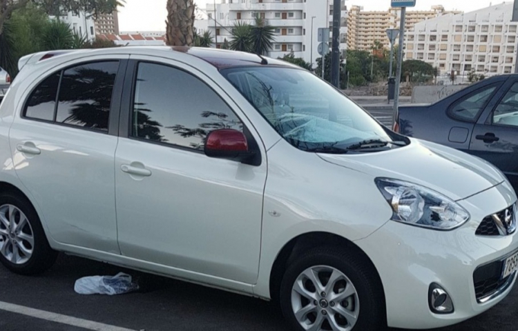 Hire a Nissan Micra in Madrid