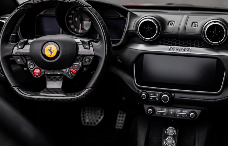 Hire a Ferrari Portofino in Madrid