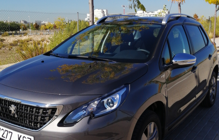 Hire a Peugeot 2008 in Madrid