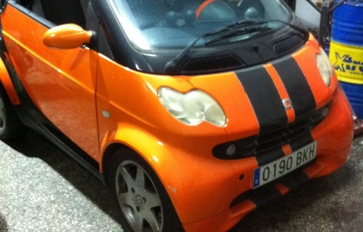 Smart For Two Cabrio Barbus 75cv